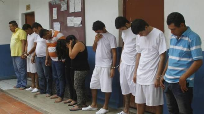 Capturan en Ciudad Delgado y en Mejicanos a 10 sujetos vinculados a diversos delitos