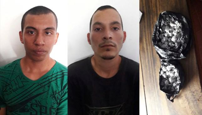 PNC captura en Ahuachapán a sujetos que comercializaban marihuana