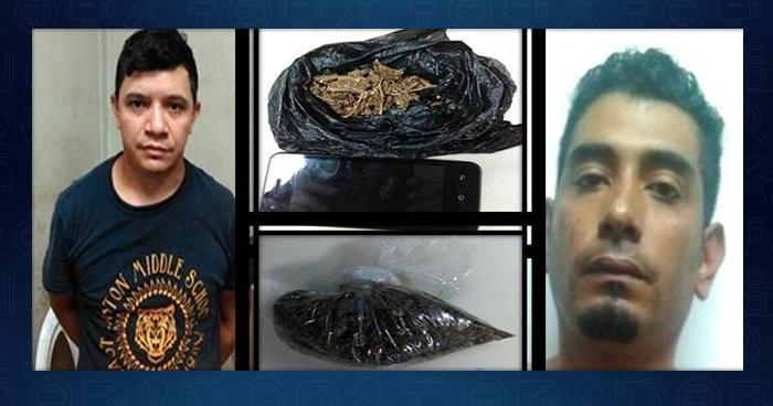 Capturan a sujetos por comercializar droga en la ciudad de San Vicente