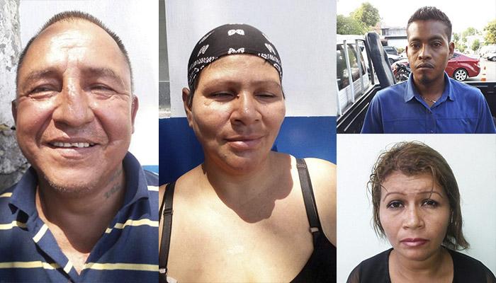 Arrestan en San Salvador a sujetos implicados en el asesinato de una vendedora del parque Bolívar