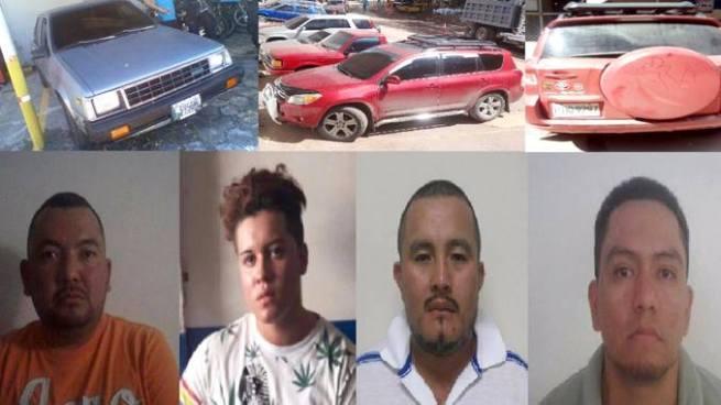 Capturan a sujetos vinculados a diversos delitos en distintos puntos fronterizos del país