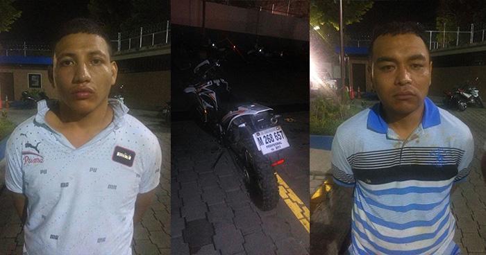 Capturan a presuntos homicidas de joven que viajaba en un taxi en San Salvador