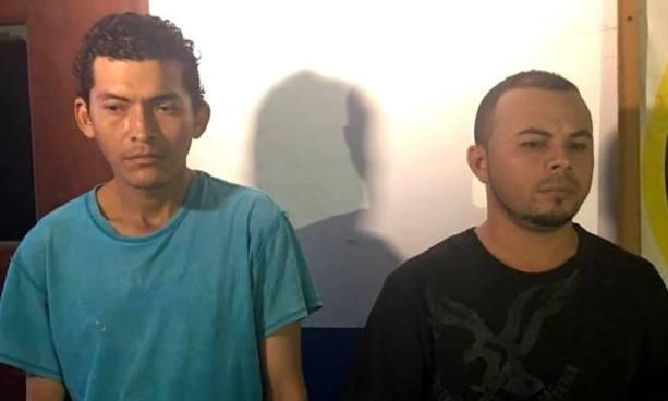 Capturan en La Unión a dos pandilleros acusados del delito de homicidio