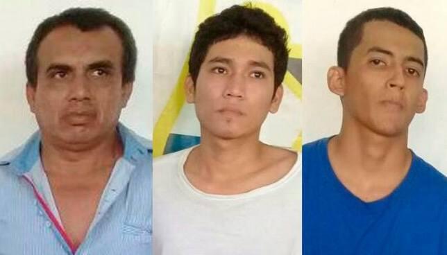 Detienen en Morazán a tres sujetos por portación ilegal de arma de fuego y resistencia