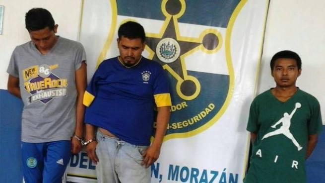 PNC de Morazán captura a varios sujetos por diversos delitos