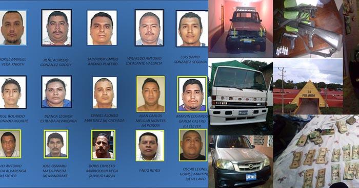 Policía desarticula red de narcotráfico e incauta $29 mil dólares en efectivo