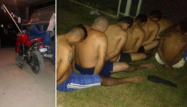 Capturan a más de 50 pandilleros durante un operativo en Santa Ana