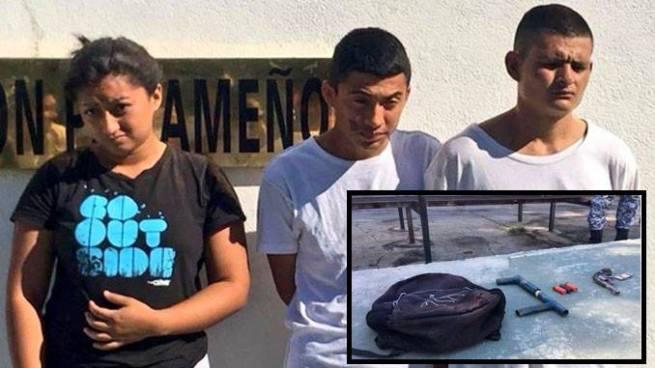 Arrestan en Usulután a pandilleros que portaban armas de forma ilegal