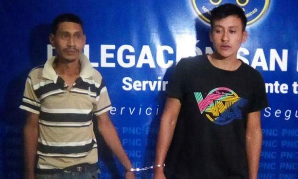 Dos sujetos son capturados por los delitos de lesiones y posesión de droga en San Miguel