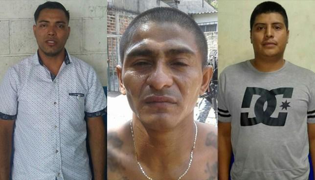 Por lesiones, extorsión y homicidio fueron detenidos tres sujetos en San Salvador