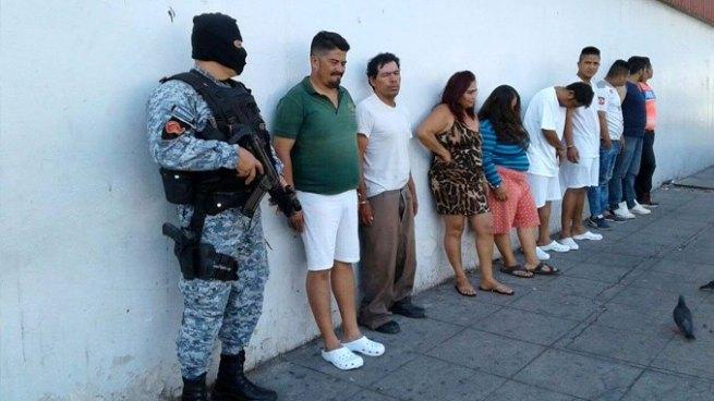 Operativo en San Salvador deja la captura de varios sujetos reclamados por diversos delitos
