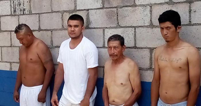 Policía de Usulután captura a siete pandilleros acusados por homicidio