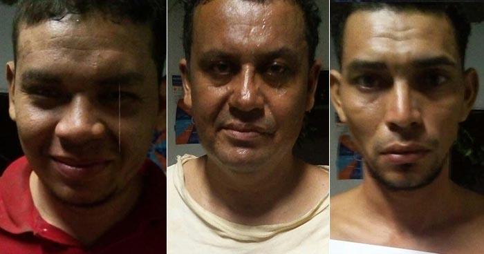 PNC de Usulután captura a sujetos por conducción temeraria y portación ilegal de arma de fuego