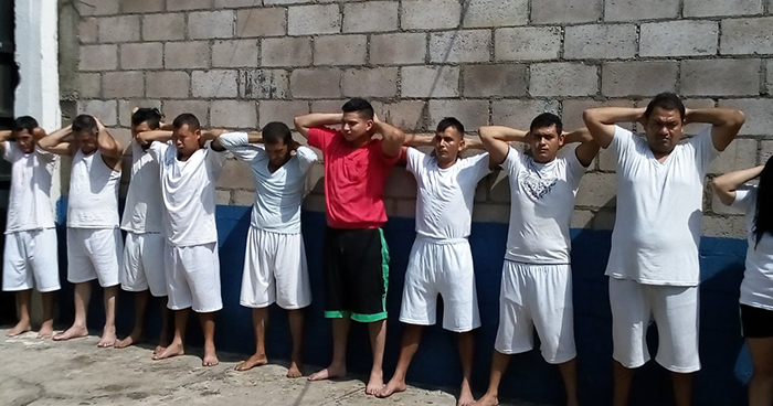 Operativo deja la captura de 12 pandilleros en el departamento de Usulután