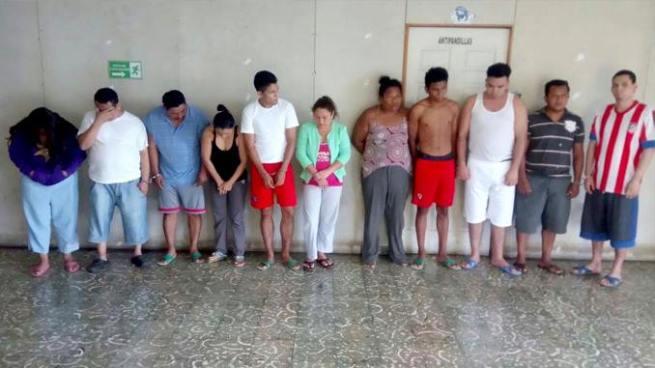Capturan en La Paz a sujetos que impedían el ingreso de desconocidos en sus comunidades