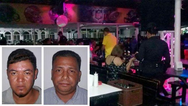 Detienen a dos sujetos con ordenes de captura en bares de San Salvador