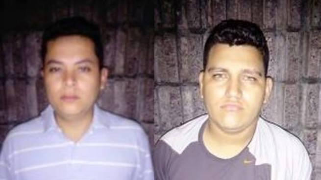 Capturan en San Salvador a dos sujetos que delinquían con un arma de juguete