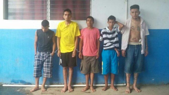 Capturan a pandilleros culpables del homicidio del agente de la PNC en Ahuachapán
