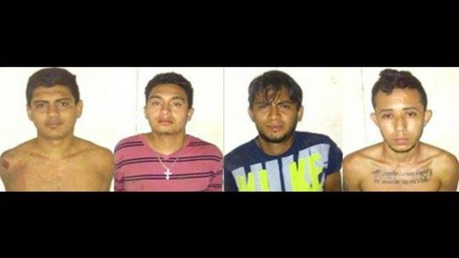 PNC captura a cuatro miembros de una pandilla en San Miguel