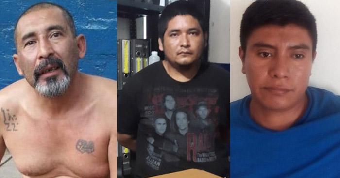 Agresores de mujeres, distribuidores de droga y prófugos fueron capturados en las últimas horas