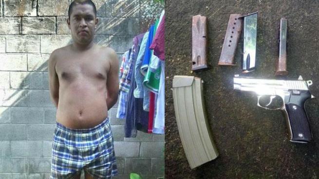"""Capturan a """"Black"""" un pandillero de los 100 más buscados en Ilopango"""
