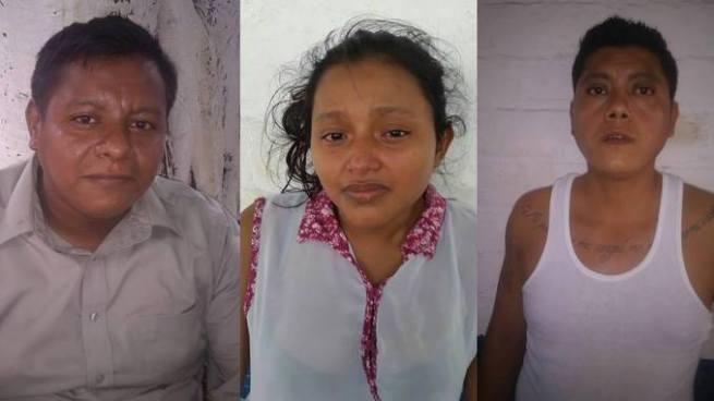 Capturan a tres extorsionistas en Sonsonate