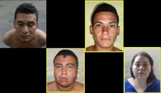 Capturan a delincuentes en zonas paracentral y oriental del país por diversos delitos