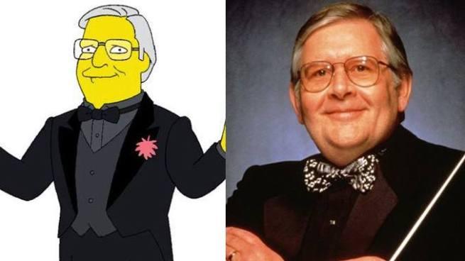 Los Simpson despiden a Alf Clausen compositor musical durante 27 años de la serie