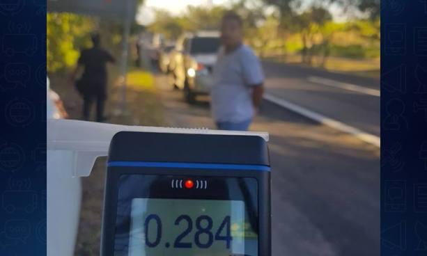 Policía de Santa Ana sorprendió a varios conductores temerarios