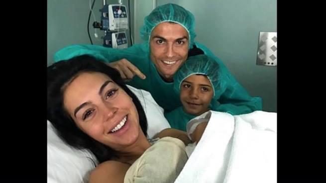 Nace Alana Martina, la cuarta hija de Cristiano Ronaldo