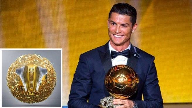 Nike homenajea a Cristiano Ronaldo por su quinto Balón de Oro con estos botines
