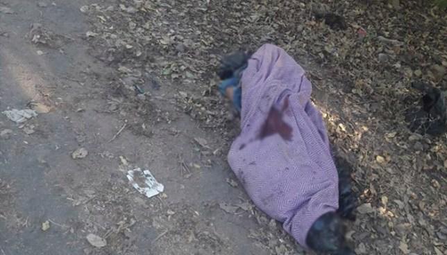 Localizan el cadáver de una persona envuelto en sabanas en la ciudad de San Miguel