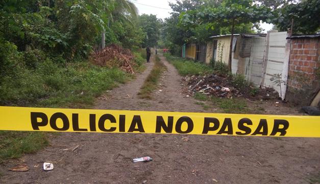 Hallazgo de cadáver en descomposición en Cantón San Carlos El Amate de San Miguel