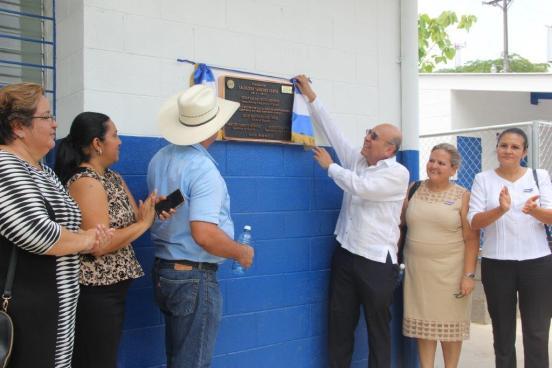 MINED inaugura primer centro escolar integral en Cabañas