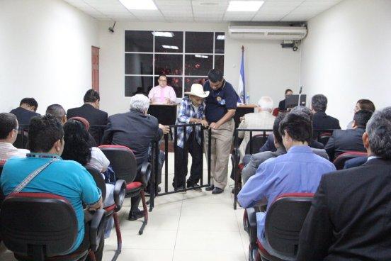 Familiares y victimas de la Masacre El Mozote ratifican testimonios en contra de militares imputados