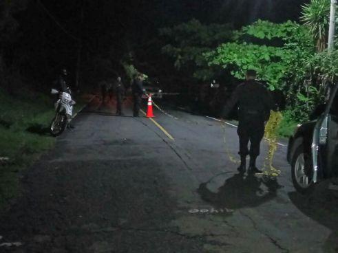 Pandilleros asesinan a machetazos a padre de agente de la PNC en La Paz