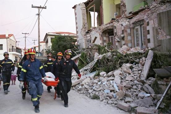 Una persona muerta y al menos 12 heridas tras terremoto 6.1 en una isla de Grecia