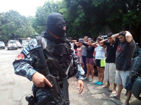 PNC captura a nueve extorsionistas en Sonsonate y San Miguel