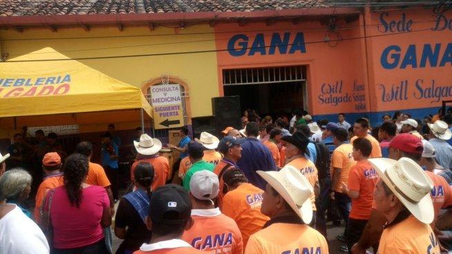 GANA realiza elecciones internas en San Miguel y Usulután