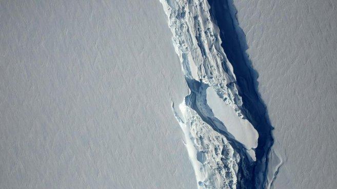 Se desprende en la Antártida un iceberg de un cuarto del tamaño de El Salvador