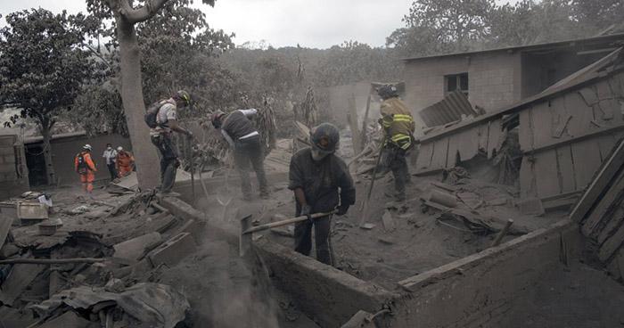Daños por la erupción del Volcán de Fuego ascienden a $219 millones de dólares