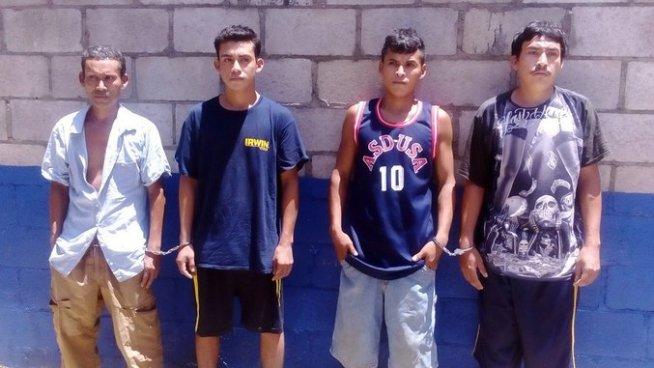 Capturan a 4 sujetos acusados de violación y amenazas en Usulután