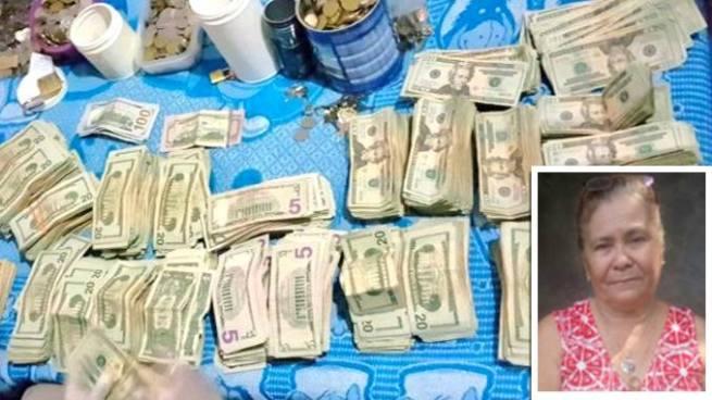 Detención provisional para mujer que no justifico la procedencia de más de $90 mil dólares