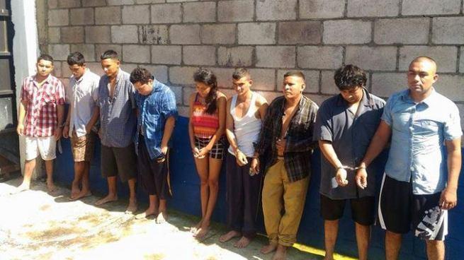 Operativo en Usulután deja varias capturas, entre ellas la de un agente del CAM