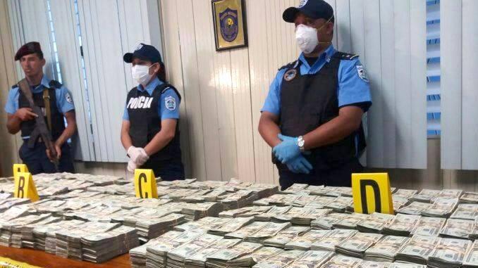 Detienen en Nicaragua a salvadoreño con más de 2 millones de dólares
