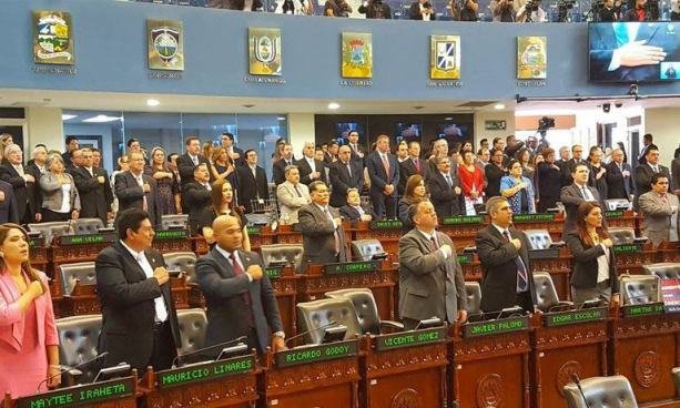 Diputados conmemoran 34 aniversario de la entrada en vigencia de la constitución