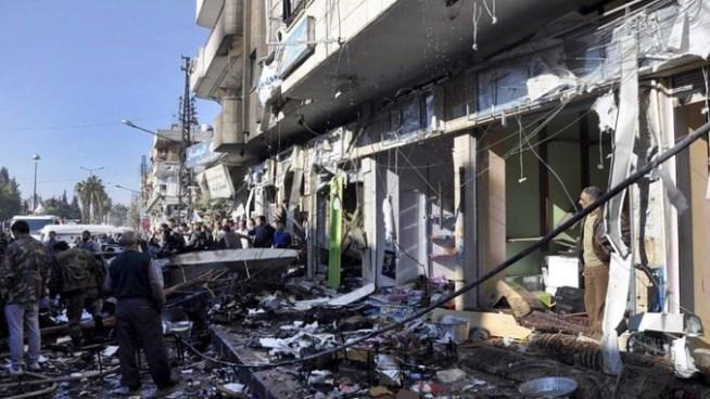 Al menos 16 muertos tras doble atentado suicida en Damasco, Siria