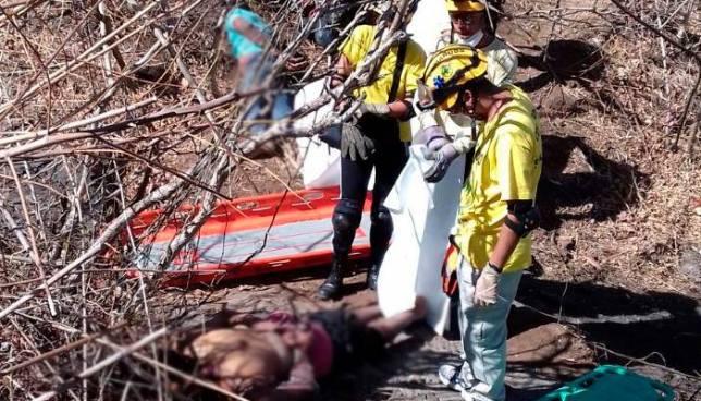 Cadáveres encontrados en Comasagua pertenece a dos hombres que fueron raptados por pandilleros