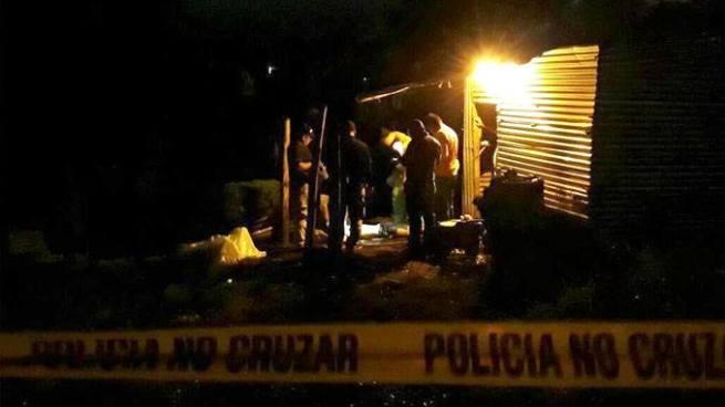 Ejecutan a dos presuntos pandilleros en Caluco, Sonsonate