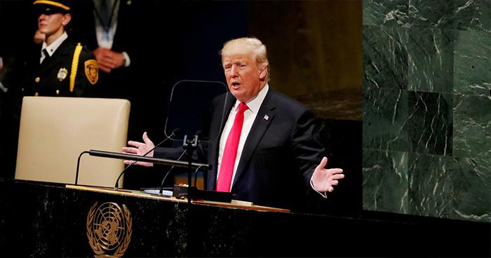 """Donald Trump: """"Solo daremos ayuda extranjera a aquellos que nos respetan y que son nuestros amigos"""""""
